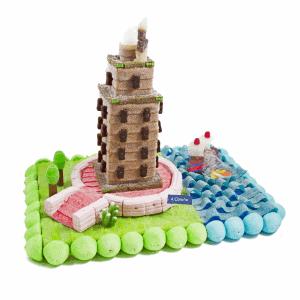 tarta de chuches coruña torre de Hercules