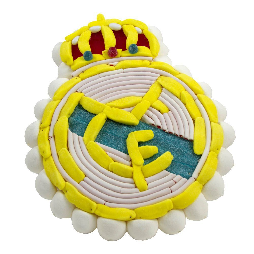 Tarta chuches Real Madrid (escudo)