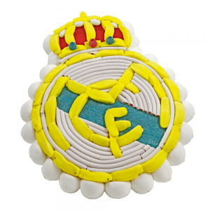 Tarta de chuches Real Madrid (escudo)