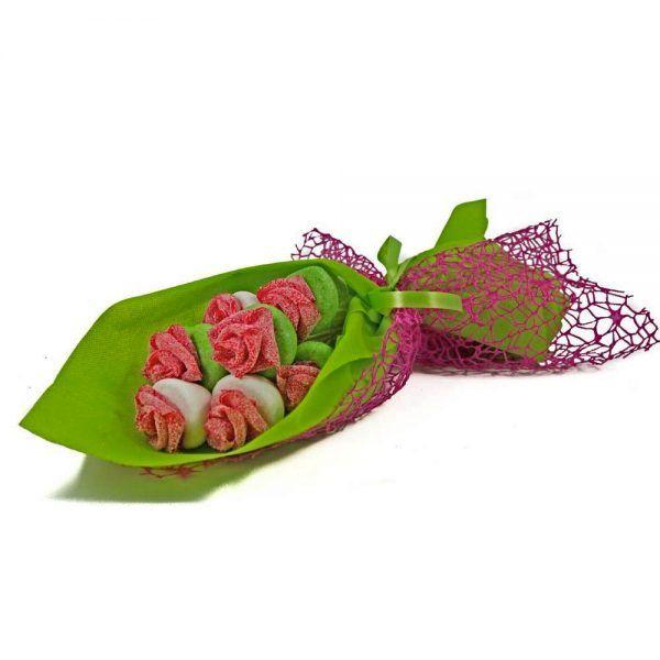 Ramo de Flores tarta de chuches de Chuches Xiana