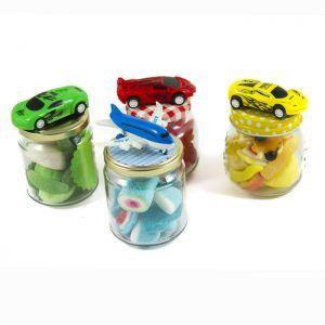 Botes de colores de gominolas de Chuches Xiana