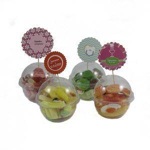 Cápsulas personalizadasde gominolas de Chuches Xiana