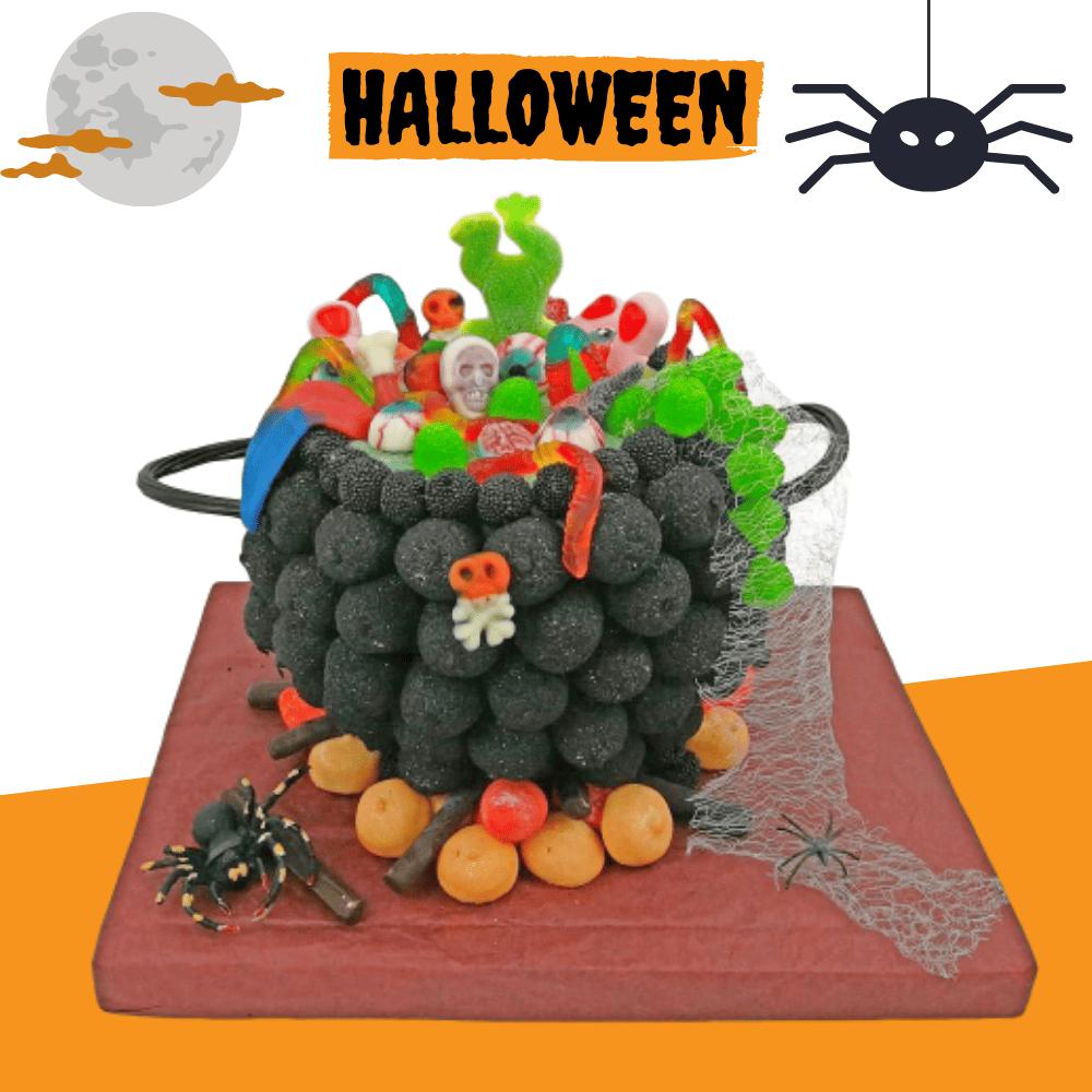 Puchero de Bruja de Halloween