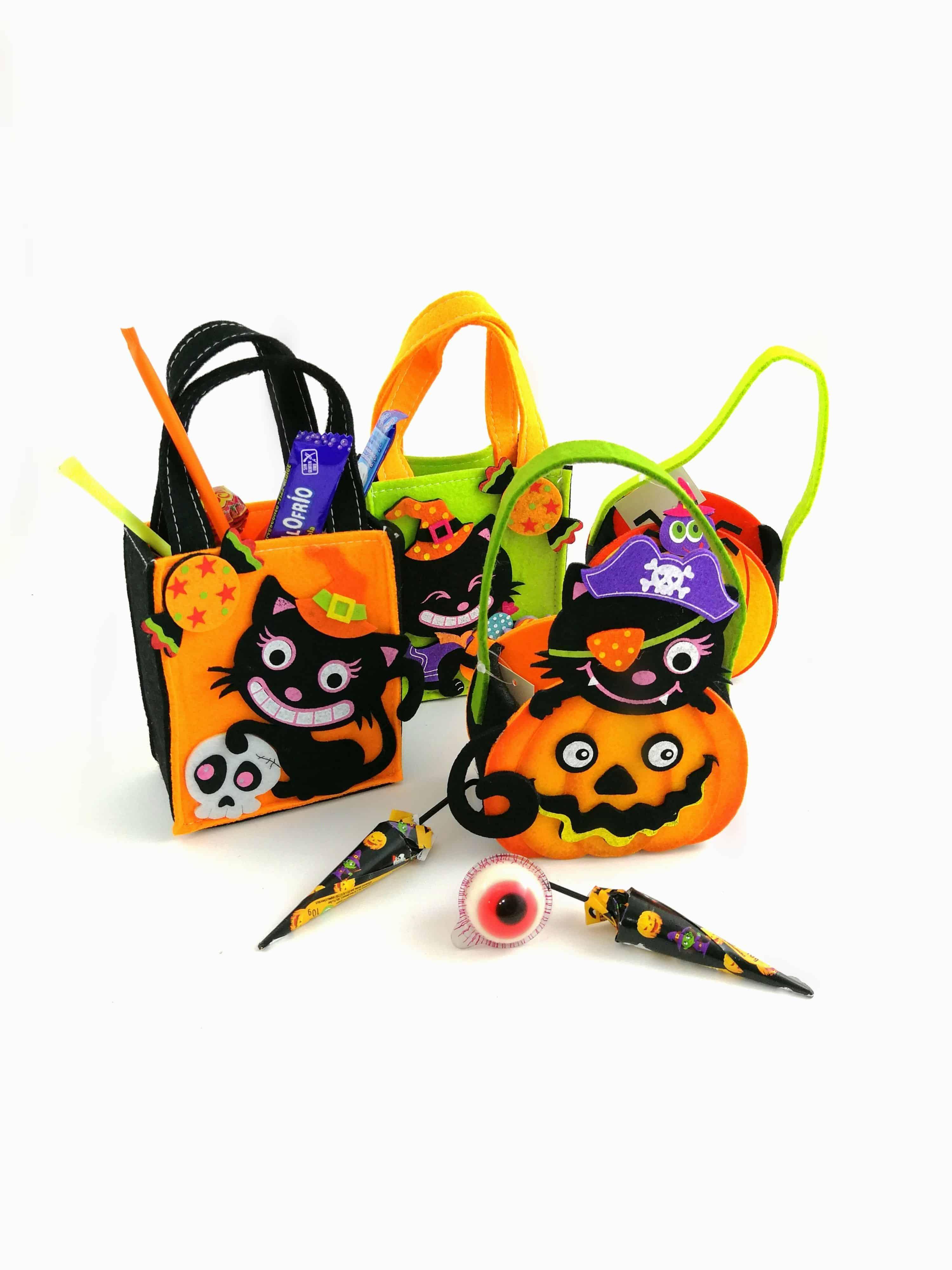 Bolsos Halloween con chuches