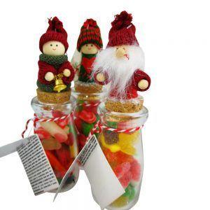Frascos de Navidad con chuches
