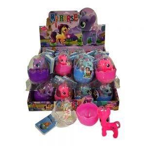 Huevos unicornio con juguete