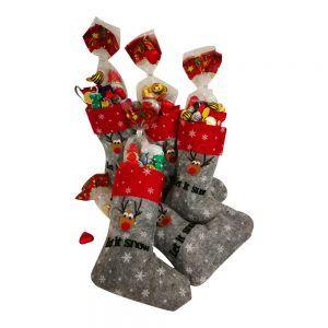 calcetines navidad con chuches