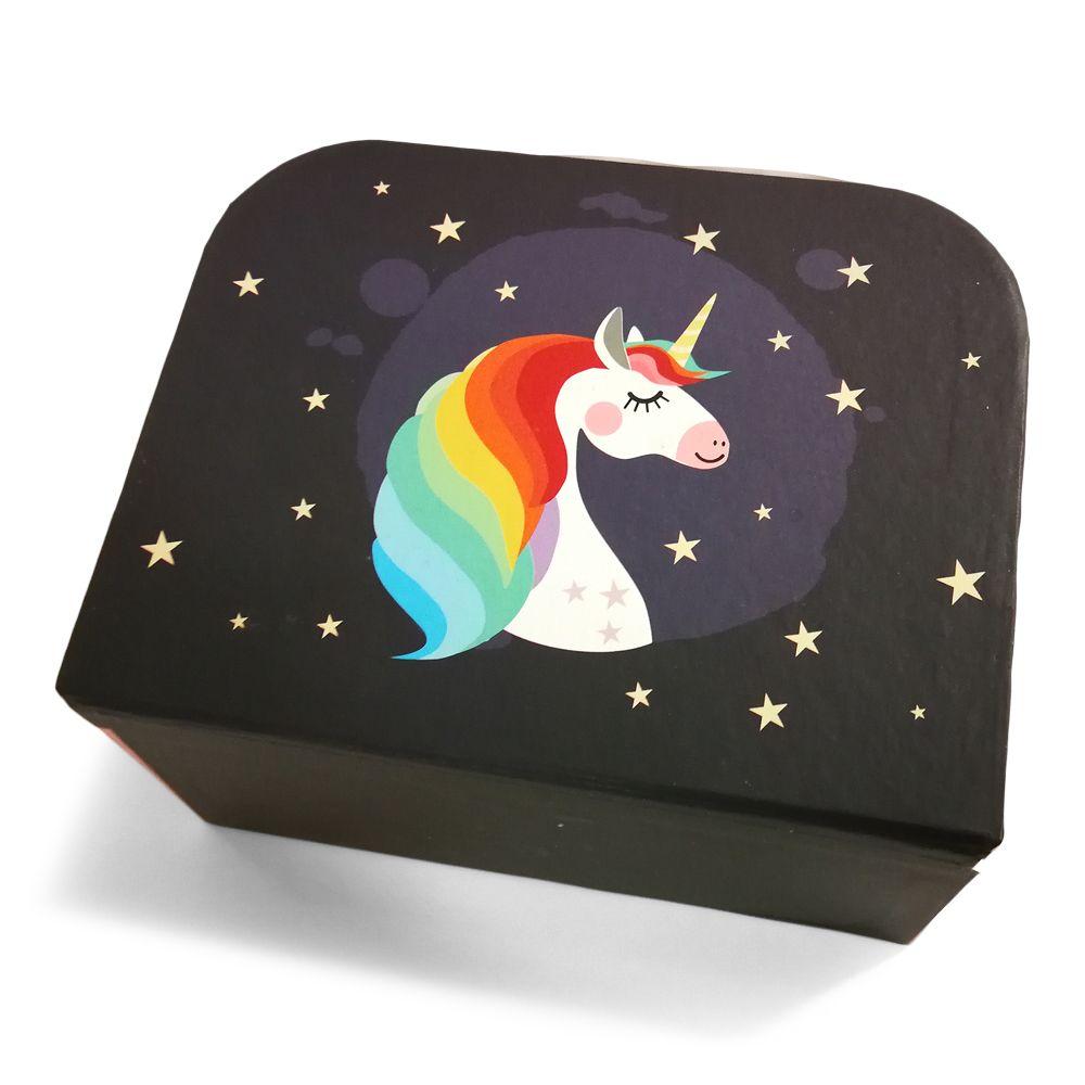 Maletin unicornio con chuches