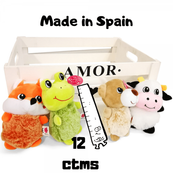 Animales Peluches 12 centimetros