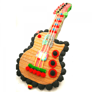 Guitarra electrica de chuches
