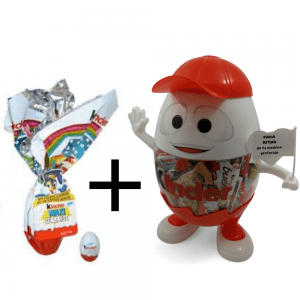 Huevo de Pascua Kinder + Kinderino Especial
