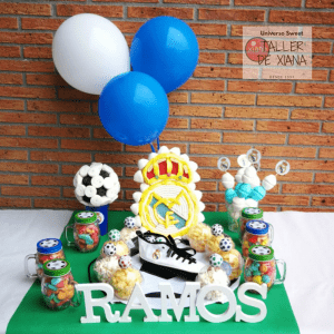 Mesa Dulce Real Madrid/ candy bar madrid