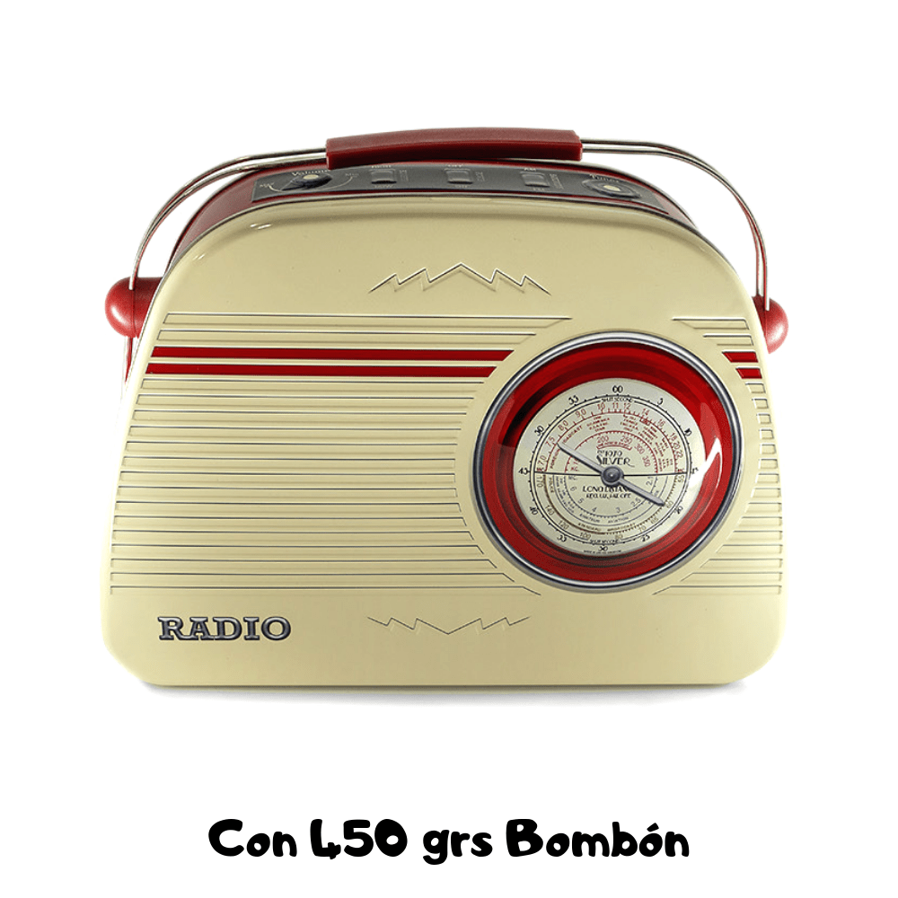 Lata Vintage Radio Coleccionista
