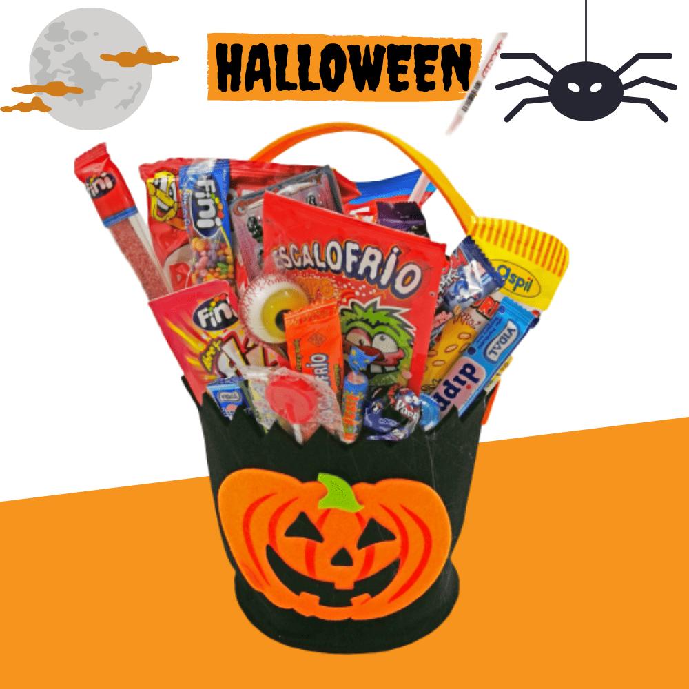 Cubo Halloween de Fieltro