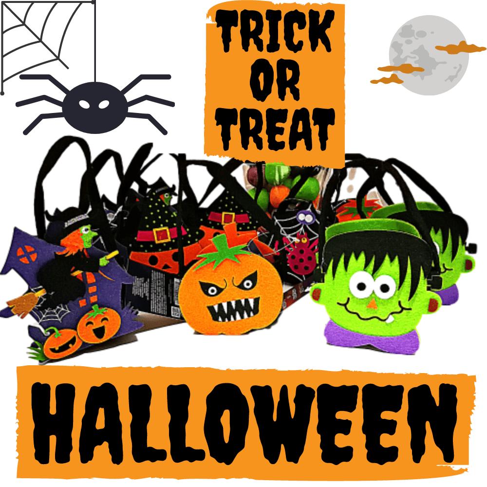 Mochila de Halloween con chuches