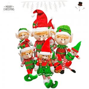 Elfos Muñecos Navidad
