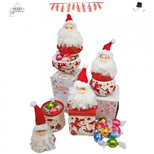 Bote Cerámica Papa Noel