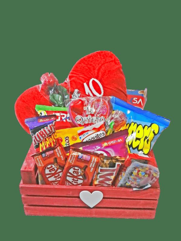 Caja de Chuches de enamorad@s