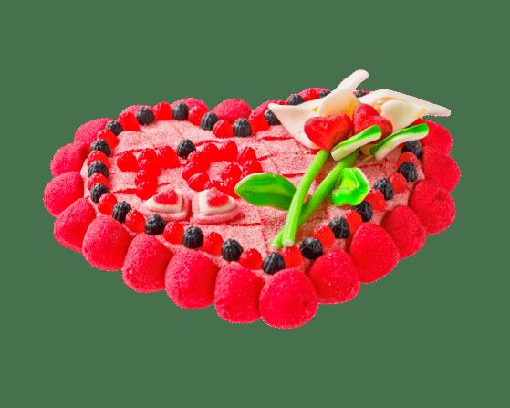 Tarta de Gominolas Te quiero